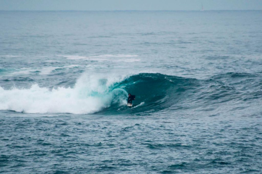 Surfing beach of Somo also takes elite surfers