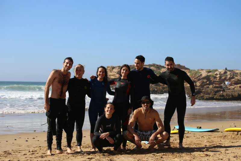 group surf trips