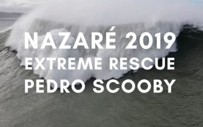 Pro surfer Pedro Scooby gets swalled by the giant wave of Nazaré in this Heart stopping footage