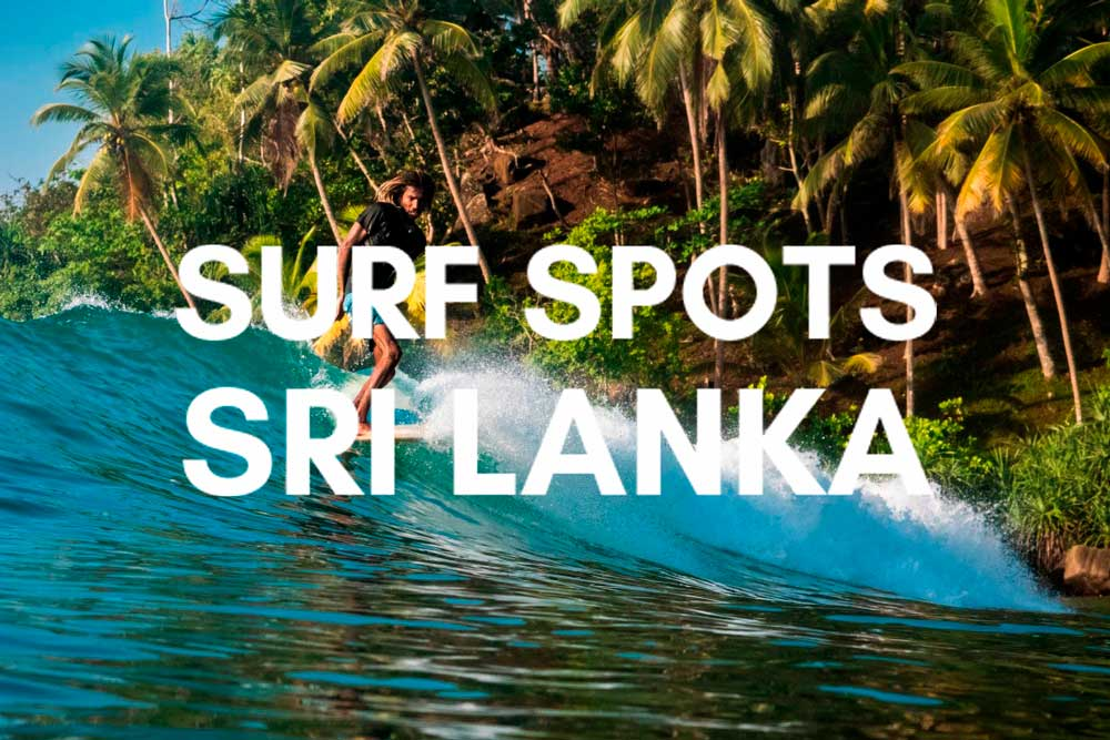 Best spots to surf in Sri Lanka