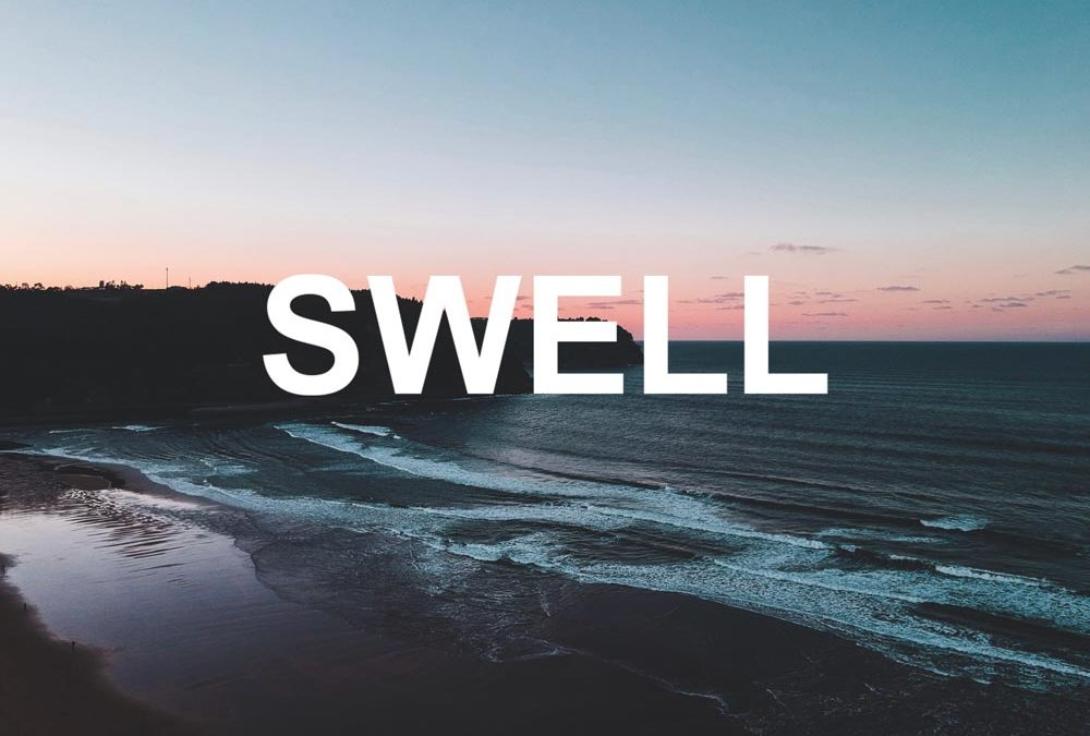 What is swell in surfing?