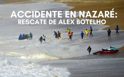 Nazaré big wave sends Alex Botelho to the hospital