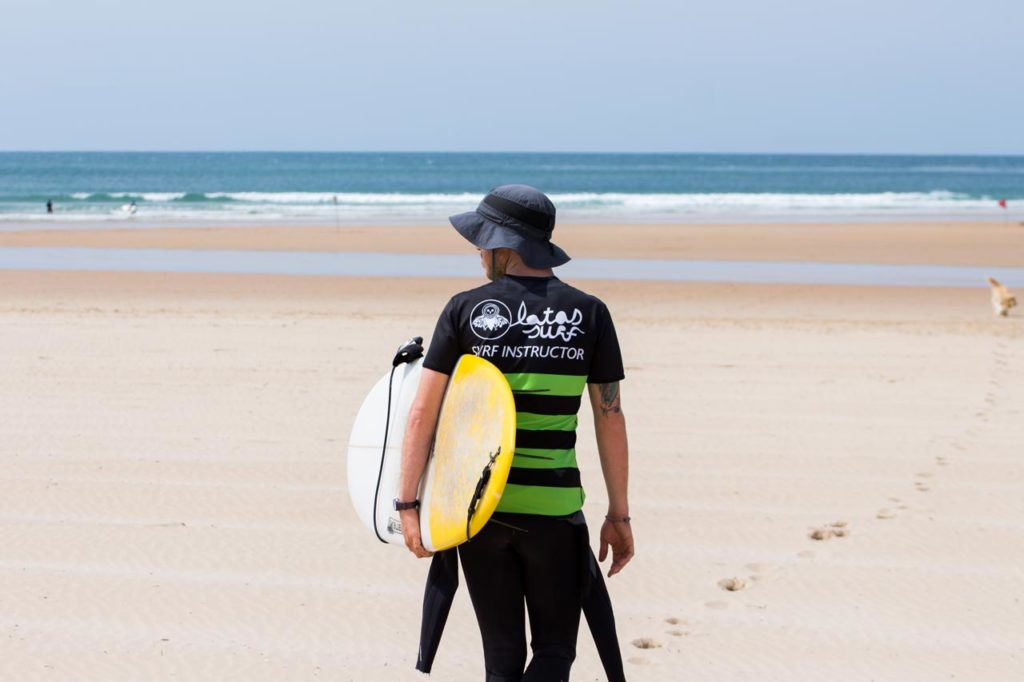 Use protective clothing when surfing